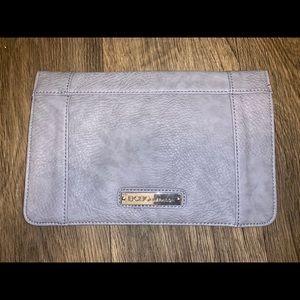 Lavender BCBGeneration envelope clutch
